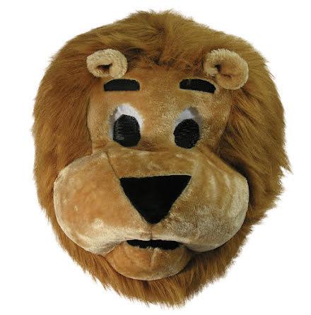 Maskothuvud, lejon