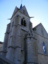 Photo: The route takes me to the impressive Gothic 13th century Église de la Chapelle.