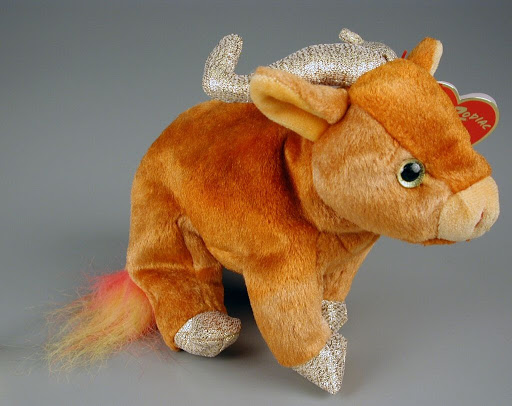 Stuffed animal:The Ty Zodiac Collection: Ox