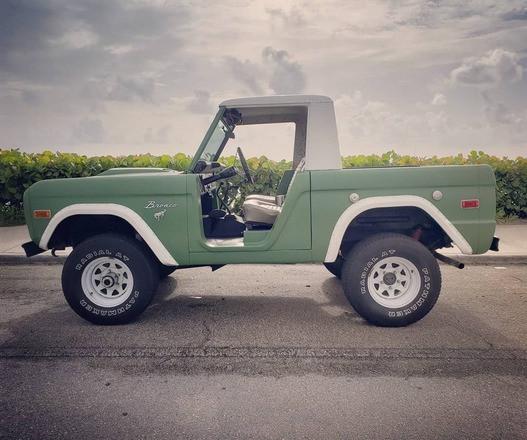 1971 Ford Bronco Truck Hire FL
