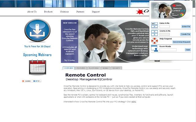 Crosstec Remote Control Client