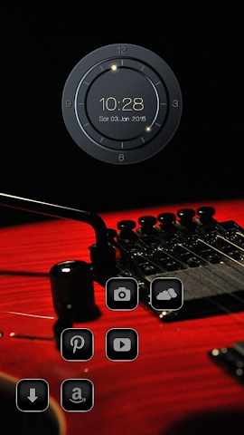 android Blood Red Guitar Screenshot 2