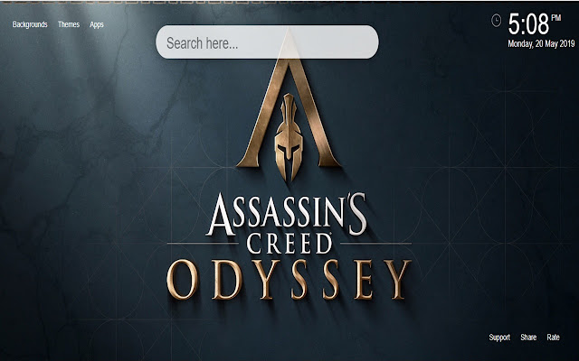 Assassins Creed Odyssey Wallpaper Hd New Tab Chrome Web Store