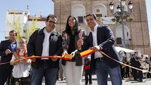 Inauguración de la Feria del Vino.