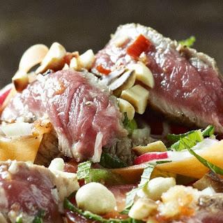 Spicy Beef Salad.