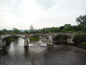 Photo: Day 51 August 8 2013 Herkimer to Latham NY Old bridges around Erie canal area.