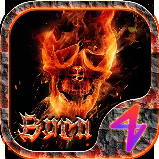 Fire Theme - ZERO Launcher
