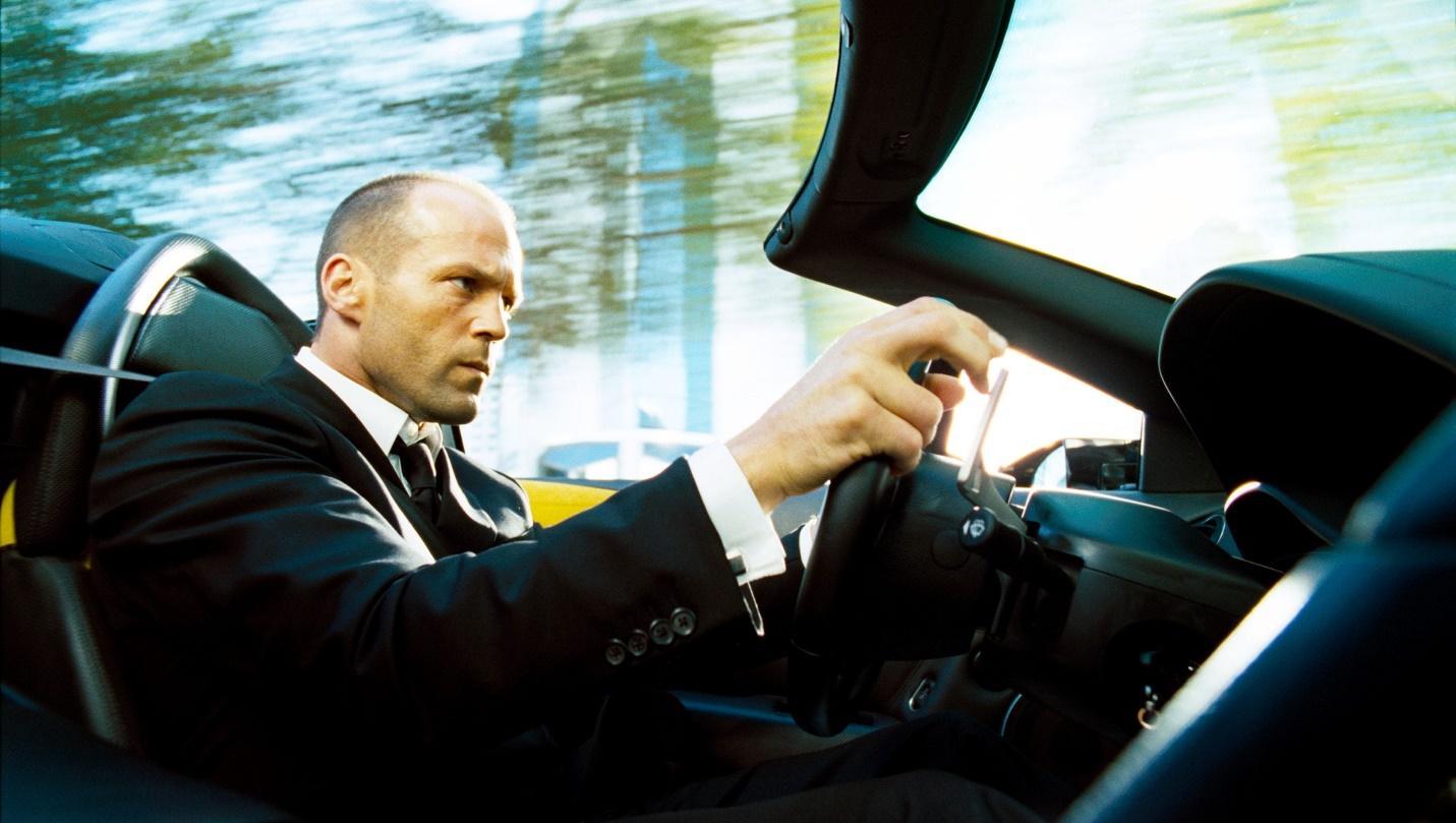 """Filmul cu masini de curse """"Transporter 1, 2, 3"""""""