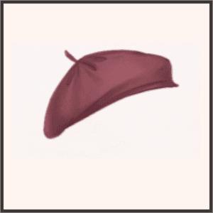 レトロな帽子