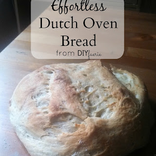 Effortless Dutch Oven Bread.