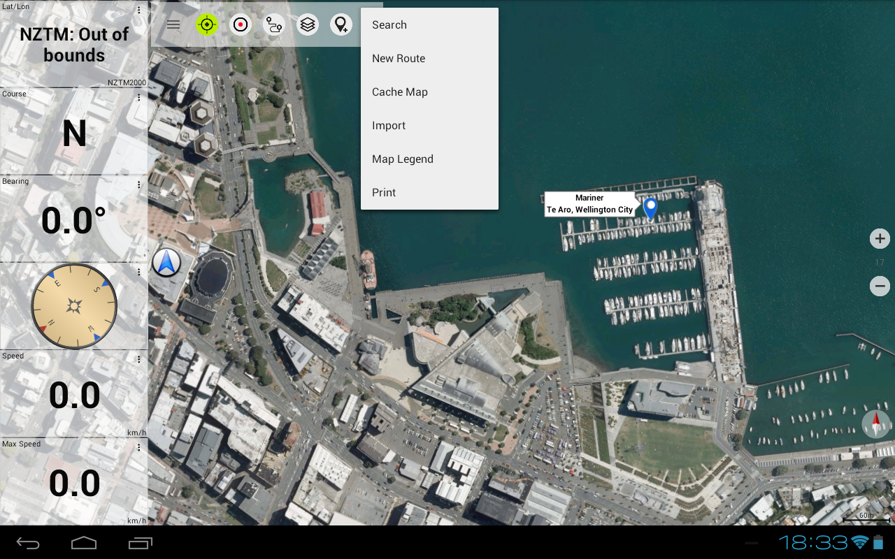 New Zealand Topo Maps Pro- screenshot