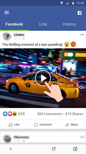 Video Downloader for Facebook Video Downloader 1.3.1 Screenshots 2