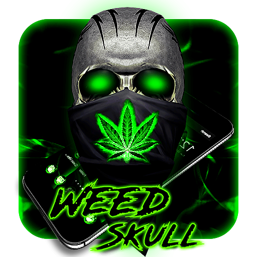 3D Skull Weed Rasta Theme (Google Play