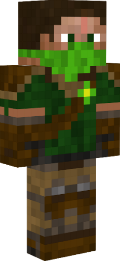 Skin Suit Wolf Minecraft