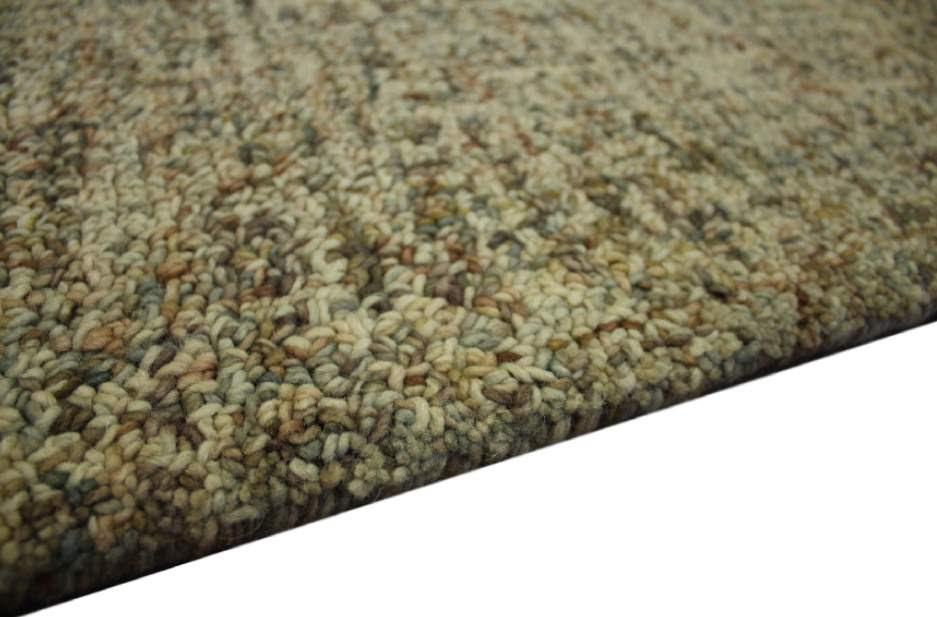 100% wełnany nowoczesny dywan z Indii ręcznie taftowany 150x240cm