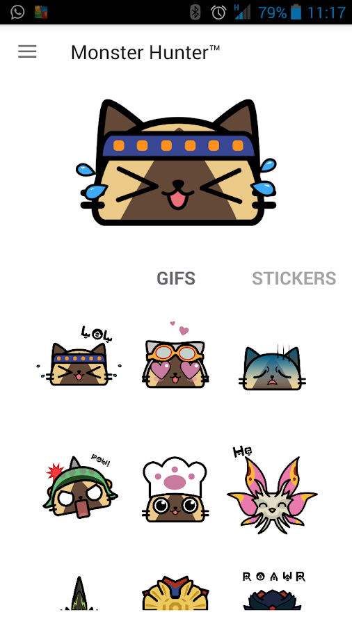 Monster Hunter™ Sticker App- screenshot
