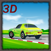 Cartoon Cars Race