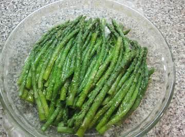 Garlicy Parmesan Asparagus