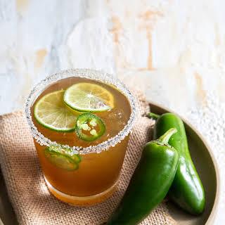 Spicy Jalapeno Margarita.