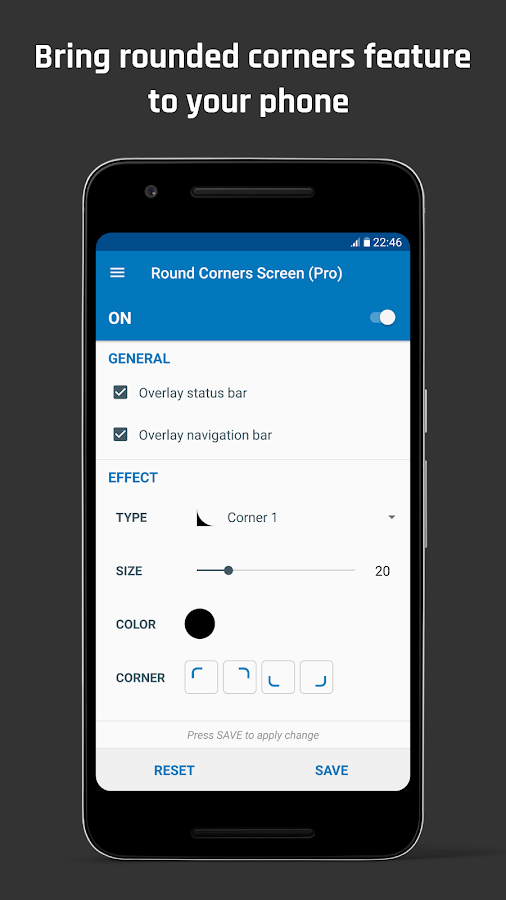 Rounded Corner- screenshot
