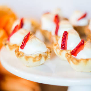 Lemon and Strawberry Curd Bites.