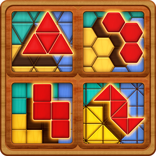 Block Puzzle Games: Wood Collection Icon