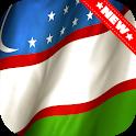 Uzbekistan Flag Wallpaper icon