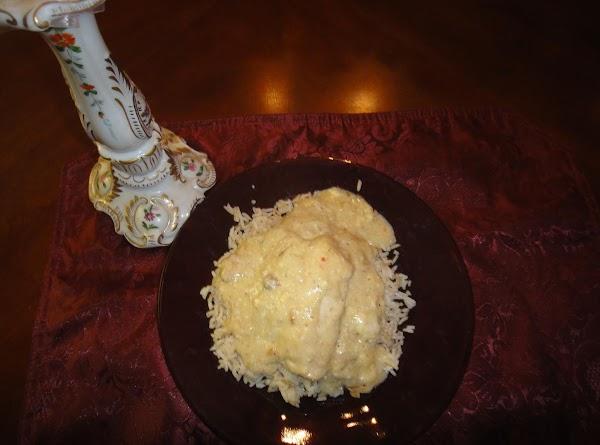 Serve with baked potatos, mashed potatos, noodles, or rice.  Done!
