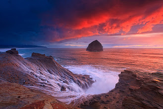 Photo: Kiwanda sunset,Oregon by Helminadia Ranford http://www.helminadia.net/ https://plus.google.com/u/0/111699855306814304937/posts