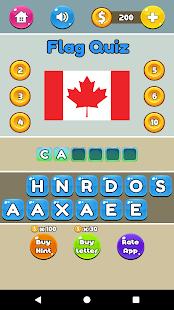 Fun Quizzes - Flag Quiz - náhled