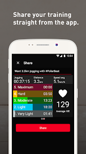 Polar Beat - Fitness Coach- screenshot thumbnail
