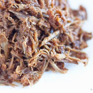 Slow Cooker Honey Whiskey BBQ Pulled Pork.