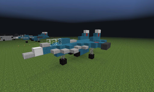 Jet Fighter Minecraft