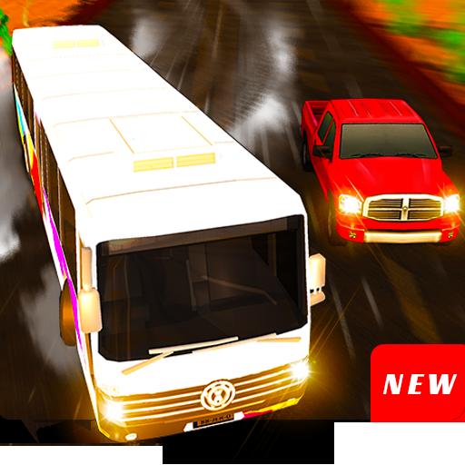 Bus traffic racer : Endless highway racing fever