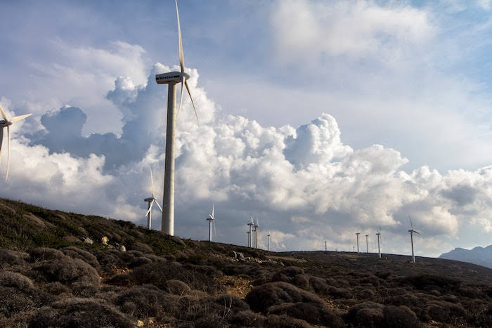 Plans for a new 22 turbine windfarm near Newtown