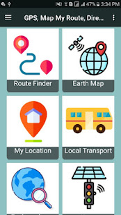 Download GPS, Map My Route, Directions, Route Planner,G map For PC Windows and Mac apk screenshot 1
