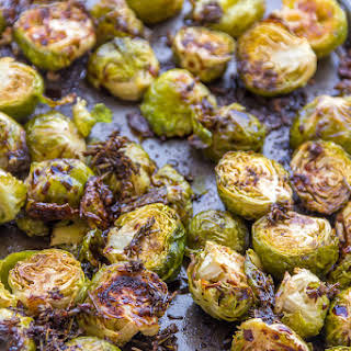 Balsamic Glazed Roasted Brussels Sprouts *Video Recipe*.