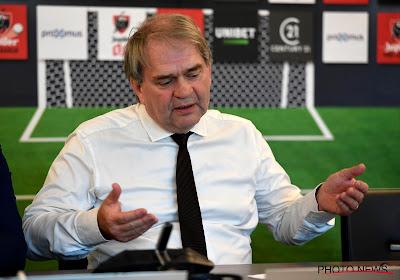 Le président de la Pro League, Pierre François tire la sonnette d'alarme