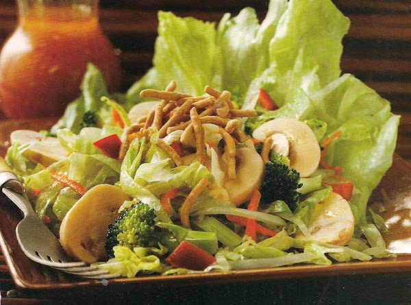 Chinese Noodle And Vegetable Salad Recipe