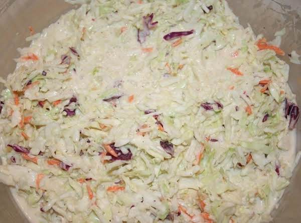 My Picture Of The Slaw Made With Bagged Slaw