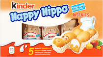 Kinder Happy Hippo Milk & Hazelnut Biscuits - 5x20.7g