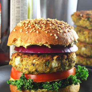 Sprouted Mung Bean Burgers.