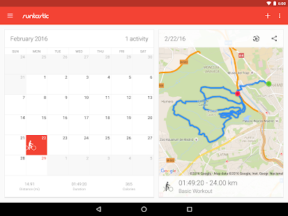 Runtastic Road Bike PRO Screenshot 10