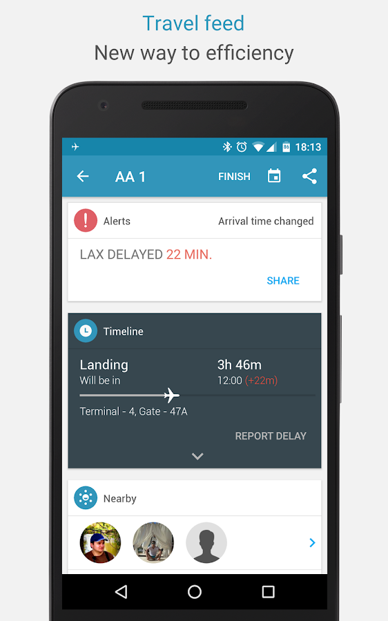 App in the Air: Flight Tracker- screenshot