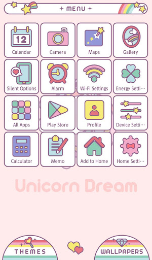 Wallpaper Unicorn Dream Theme 1.0.0 Windows u7528 2