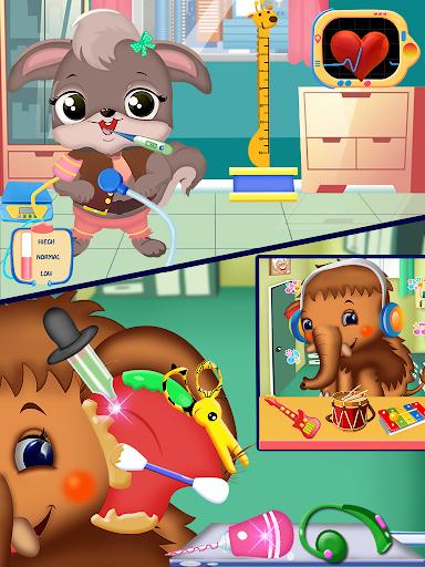 Princess pet hospital - tooth dentist Surgery Game 5.0 screenshots 2
