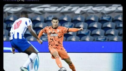 Hasil Liga Champions - Ronaldo Ngamuk Tak Diberi Penalti, Juventus Takluk 1-2 dari Porto - Bolasport.com