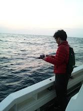 Photo: 日暮れまでガンバッて釣りました。