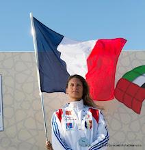 Photo: Déborah Ferrand, Argent au 4e DIPC 2013 en PA Femmehttp://www.ffp.Asso.Fr