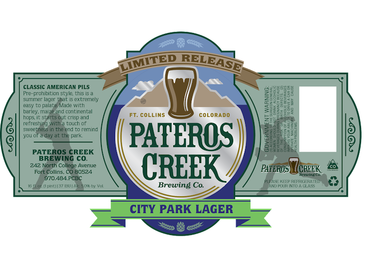 Logo of Pateros Creek City Park Lager